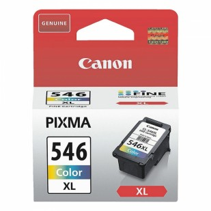 Cartus cerneala Original Canon CL-546XL Color, compatibil MG2450/MG2550 (BS8288B001AA)