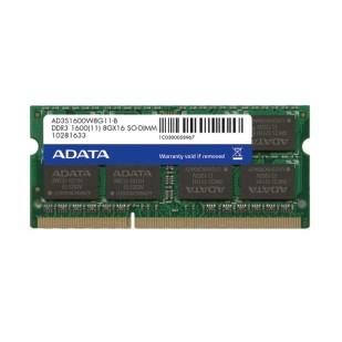 ADATA SODIMM 4GB DDR3 1600MHz Bulk (AD3S1600W4G11-B)