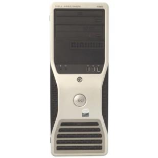 Dell, PRECISION WORKSTATION 490, 2x  Intel Xeon 5140, 2.33 GHz, video: nVIDIA Quadro FX 3500; TOWER