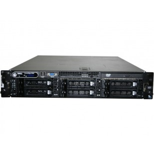 DELL PowerEdge 2950; 2x DualCore Intel Xeon 5110, 1600 MHz; 8 GB RAM; HDD TYPE: SAS; DVD; 4x 3,5 HDD bay