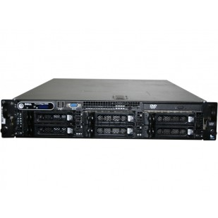 "DELL PowerEdge 2950 G2; 2x QuadCore Intel Xeon X5365, 3.0 GHz; 4 GB RAM; DVD; RAID Controller; PERC 5/I; 6x 3,5"" HDD bay; size: 2U"