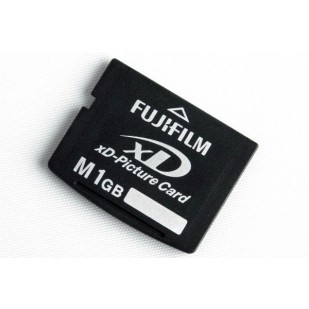 XD CARD FUJIFILM; model: SP001GBXD, 1 GB