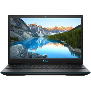 Laptop DELL, G3 3500, Intel Core i7-10750H, 2.60 GHz, HDD: 256 GB SSD, RAM: 16 GB, video: nVIDIA GeForce GTX 1660 Ti, webcam