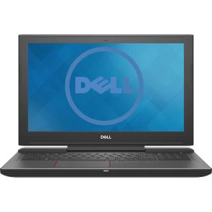 Laptop DELL G5 5587, Intel Core i7-8750H, 2.20 GHz, HDD: 128 GB SSD, 1000 GB, RAM: 8 GB, video: nVIDIA GeForce GTX 1050 Ti, webcam