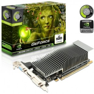 Placa video GEFORCE GT 520 PCI-E 1GB DDR3 64BIT