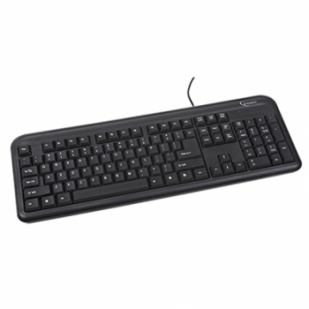 Tastatura GEMBIRD; model: KB-UM-101; layout: US; NEGRU; USB
