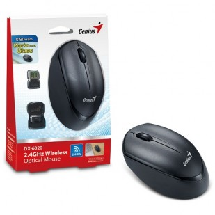 Mouse GENIUS; model: DX-6020; NEGRU; USB; WIRELESS