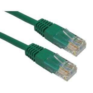 Cablu PC; RJ 45 M la RJ 45 M; 2m VERDE