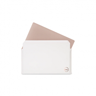 """Husa pentru laptop Dell Premier, marime: 13"""", culoare: alb"""