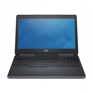 Laptop DELL, PRECISION M7510, Intel Core i5-6300HQ, 2.30 GHz, HDD: 256 GB SSD, RAM: 16 GB, video: Intel HD Graphics 530, nVIDIA Quadro M1000M, webcam