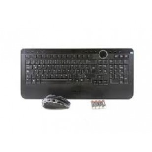 Kit Tastatura + Mouse DELL model Y-RBP-DEL4 layout ITA NEGRU USB WIRELESS MULTIMEDIA