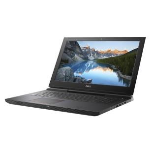 Laptop DELL, INSPIRON 7577, Intel Core i7-7700HQ , 2.80 GHz, HDD: 128 GB, 1 TB, RAM: 16 GB, video: Intel HD Graphics 630, nVIDIA GeForce GTX 1050 Ti, webcam