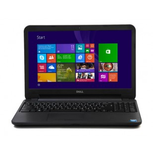 Laptop DELL, INSPIRON 3531, Intel Celeron N2830, 2.17 GHz, HDD: 250 GB, RAM: 4 GB, video: Intel HD Graphics, webcam, 15.6 LCD (WXGA), 1366 x 768""