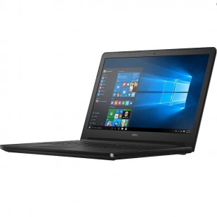 Laptop DELL, INSPIRON 5566, Intel Core i3-7100U, 2.40 GHz, HDD: 1 TB, RAM: 6 GB, unitate optica: DVD RW, video: Intel HD Graphics 620, webcam