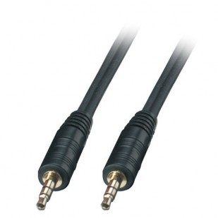 Cablu audio; JACK 3.5 M la JACK 3.5 M; 2m