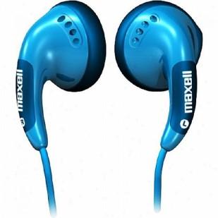 Casti Stereo Colour Budz Maxell, culoare: albastru