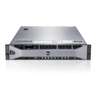 DELL PowerEdge R710; 2x QuadCore Intel Xeon E5530, 2.4 GHz; 12 GB RAM; DVD; RAID Controller; PERC 6/I; 2x PSU; size: 2U