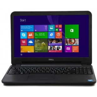 Laptop DELL, INSPIRON 3531, Intel Celeron N2830, 2.17 GHz, HDD: 500 GB, RAM: 4 GB, video: Intel HD Graphics, webcam, 15.6 LCD (WXGA), 1366 x 768""