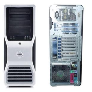 Dell, PRECISION WORKSTATION T7500,  Intel Xeon X5687, 3.60 GHz, video: nVIDIA Quadro 2000; TOWER