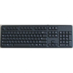 Genuine DELL USB SLIM Keyboard DANISH Layout Brand