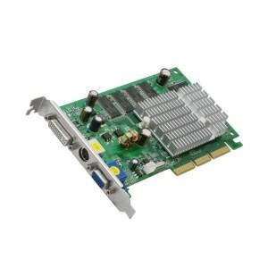 Placa video 256 MB; 128 bit; AGP; Model: FX5500 ; DVI