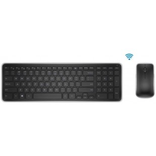 "Kit Tastatura + Mouse DELL; model: KM 714; layout: ITA; NEGRU; USB; WIRELESS; MULTIMEDIA; ""0CCFD"""
