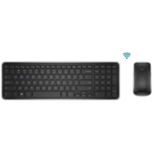 "Kit Tastatura + Mouse DELL; model: KM 714; layout: GER; NEGRU; USB; WIRELESS; MULTIMEDIA; ""164JT"""