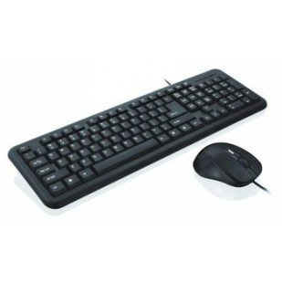 Kit Tastatura + Mouse IBOX; model: OFFICE KIT II; layout: US; NEGRU; USB;