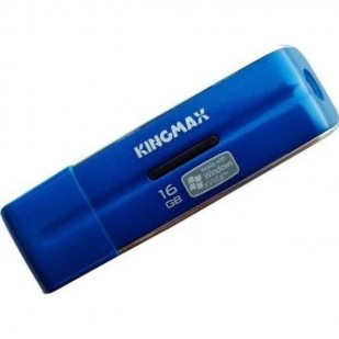 USB STICK KINGMAX; model: KM16GUDN; capacitate: 16 GB; interfata: 2.0; culoare: ALBASTRU