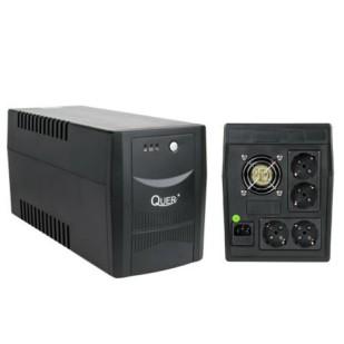 UPS QUER; model: KOM0555 1500VA; format: TOWER; iesiri: 4; baterii NOI; stare: NOU