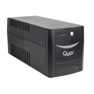 UPS QUER; model: KOM0551 600VA; format: TOWER; iesiri: 2; baterii NOI; stare: NOU