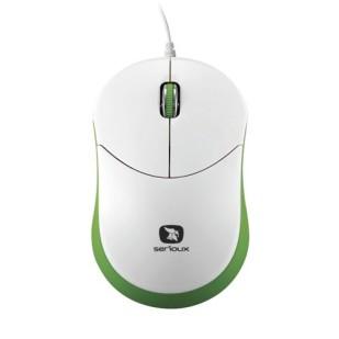 Mouse SERIOUX; model: RAINBOW680-GR; USB