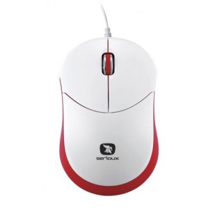 Mouse SERIOUX; model: RAINBOW680-OR; USB