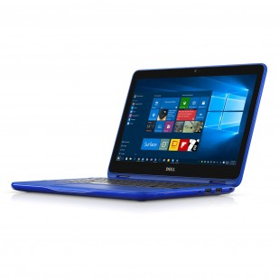 Laptop DELL, INSPIRON 11 - 3168, Intel Celeron N3060, 1.60 GHz, HDD: 32 GB, RAM: 2 GB, video: Intel HD Graphics, webcam