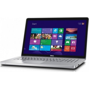 Laptop DELL Inspiron 7737; Intel Core i7-4500U, 1800 MHz; 8 GB RAM; 750 GB HDD; nVIDIA GeForce GT 750M; DVD-RW