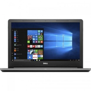 Laptop DELL, VOSTRO 15-3568, Intel Core i3-6100U, 2.30 GHz, HDD: 500 GB, RAM: 4 GB, unitate optica: DVD RW, video: Intel HD Graphics 520, webcam