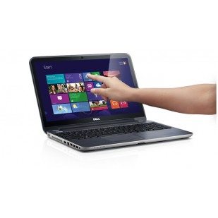 Laptop DELL Inspiron 5537; Intel Core i7-4500U, 1800 MHz; 4 GB RAM; 320 GB HDD; AMD Radeon HD 8600M; DVD-RW;