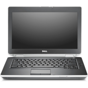 Laptop DELL, LATITUDE E6430; Intel Core i7-3610QM, 2300 MHz; 8 GB RAM; 320 GB HDD; Intel HD Graphics 4000; DVDRW