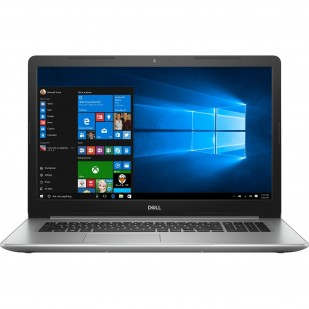 Laptop DELL, INSPIRON 5770, Intel Core i3-7020U, 2.30 GHz, HDD: 1TB, RAM: 8 GB, unitate optica: DVD RW, video: Intel HD Graphics 620, webcam