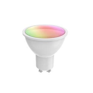 Bec LED Smart WiFi Woox R9076, GU10, 5.5W, Color