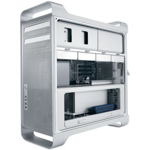 MAC PRO (Early 2008); 2 x Xeon Quad Core, 3.2 GHz, HDD: 500 GB, RAM: 8 GB, unitate optica: DVD RW, video: nVIDIA GeForce 8800 GT