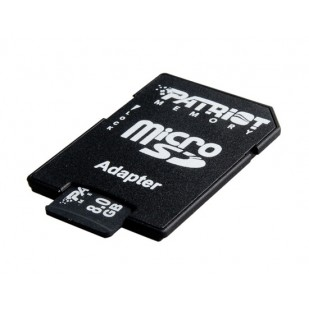 MICRO SD CARD PATRIOT; capacitate: 8 GB; clasa: 4; Adaptor;