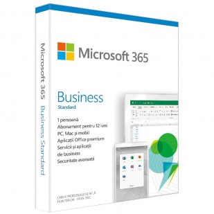 Microsoft 365 Business Standard, subscriptie 1 an, 1 utilizator