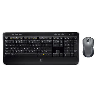 "Kit Tastatura + Mouse LOGITECH; model: MK 520; layout: US; NEGRU; USB; WIRELESS; MULTIMEDIA, ""3Y91D"""