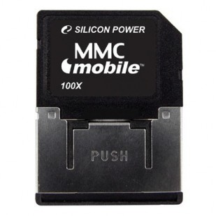 MMC SILICONE POWER; model: SP512MB, 512 MB