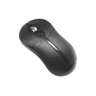 Mouse SERIOUX; model: SRXM-OP76; NEGRU; USB