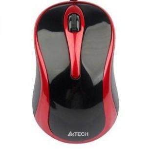 Mouse A4TECH G7-350N, negru/rosu