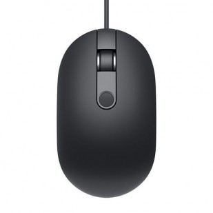 Mouse DELL cu cititor amprenta, model: MS819, NEGRU, USB