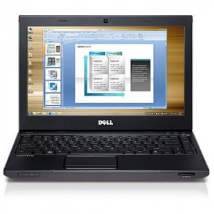 Laptop DELL, VOSTRO 3350, Intel Core i5-2410M, 2.30 GHz, HDD: 320 GB, RAM: 4 GB, unitate optica: DVD RW, video: Intel HD Graphics 3000, webcam, BT, 14 LCD (WXGA), 1366 x 768""