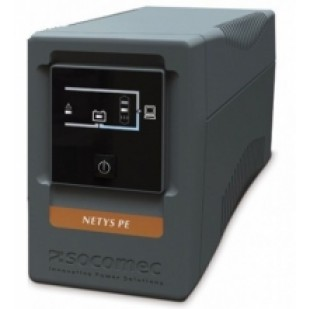 UPS SOCOMEC; model: NETYS PE 1000VA; format: TOWER; management; iesiri: 4, NOU